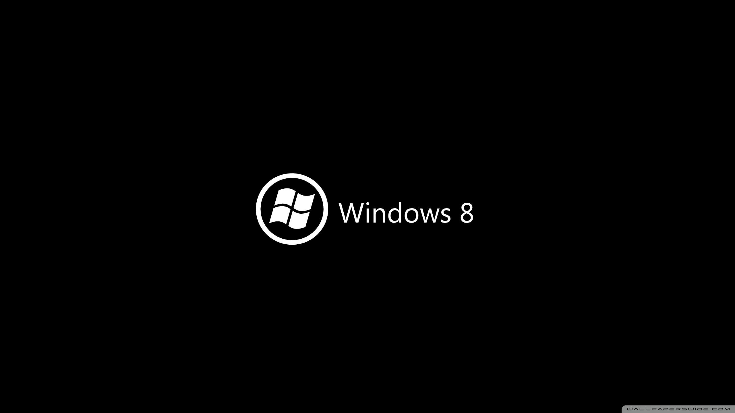 windows 8 on black ❤ 4k hd desktop wallpaper for 4k ultra hd tv