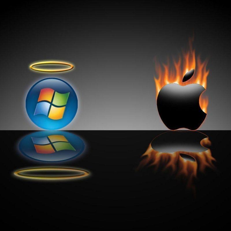 10 Best Windows Vs Mac Wallpaper FULL HD 1920×1080 For PC Background 2018 free download windows vs mac wallpapers wallpaper cave 1 800x800