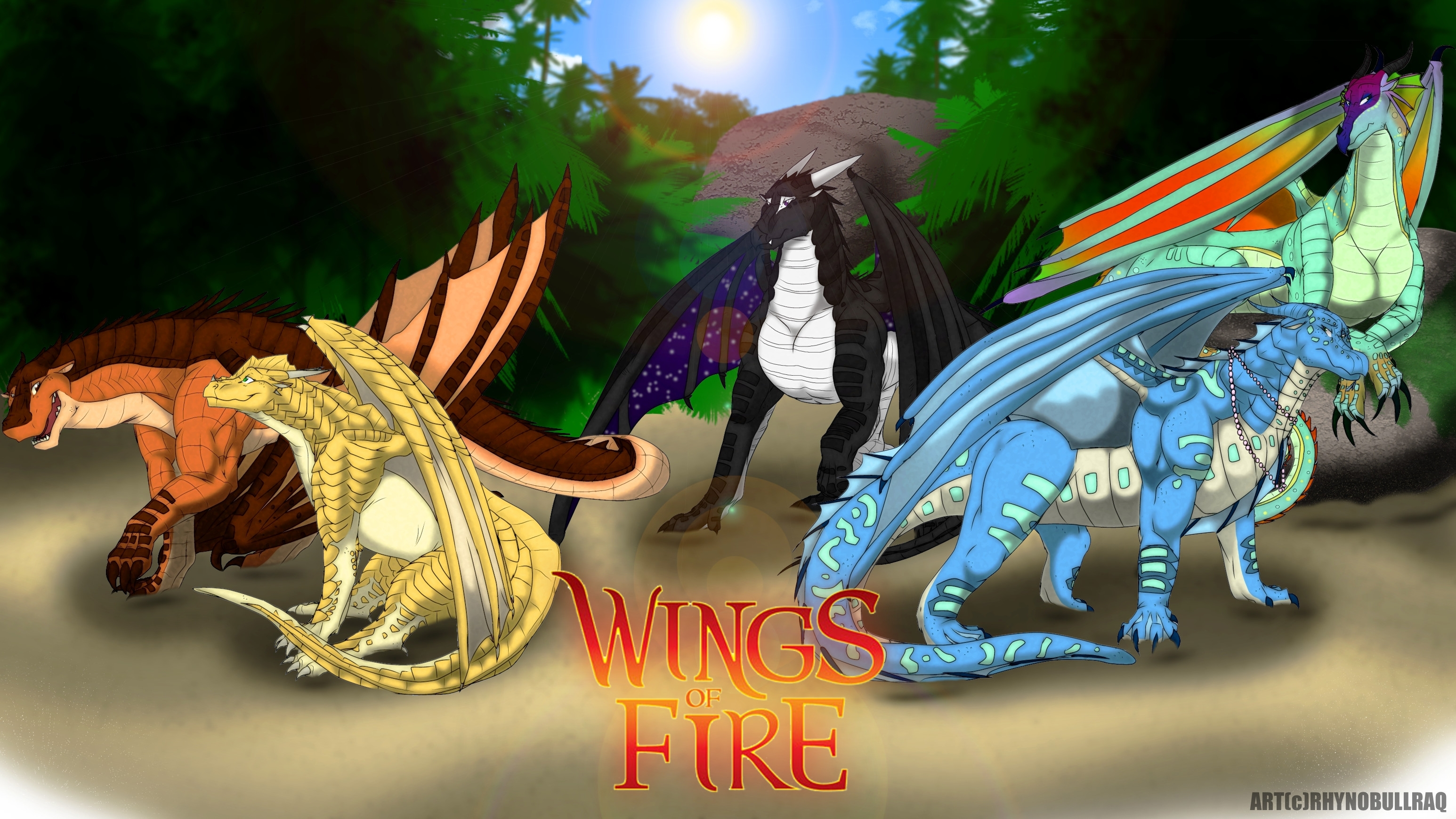 wings of fire wallpaper (79+ images)