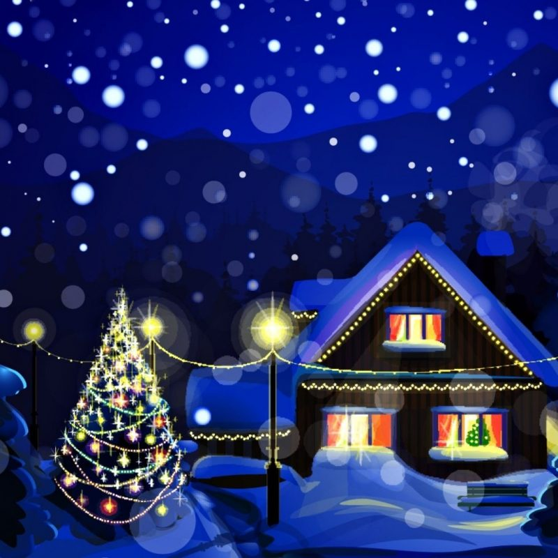 10 New Christmas Lights Snow Wallpaper FULL HD 1080p For PC Desktop 2021 free download winter christmas eve peaceful winter time amazing forest snowflakes 800x800
