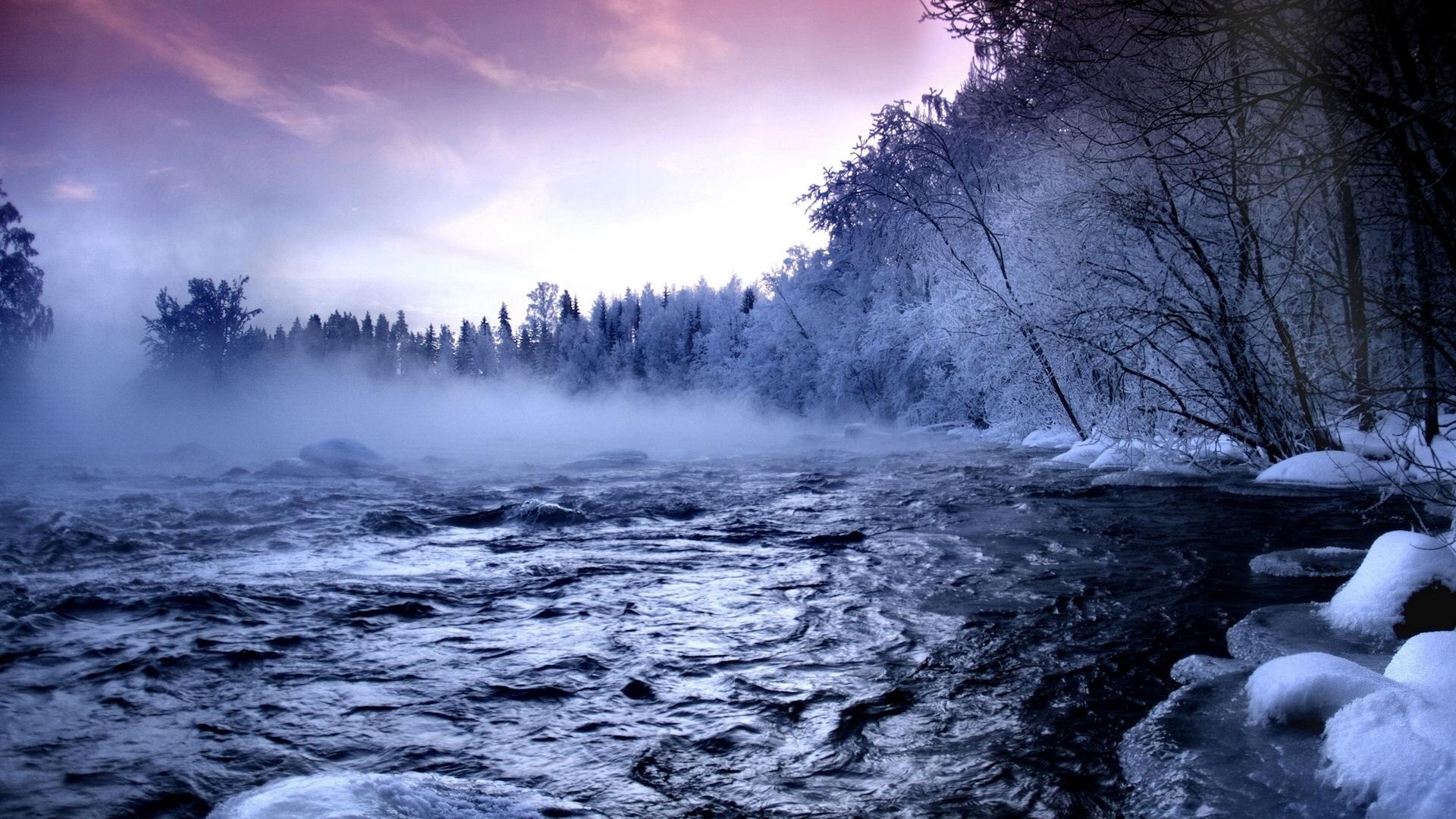 winter landscape desktop wallpaper in hd full free - media file