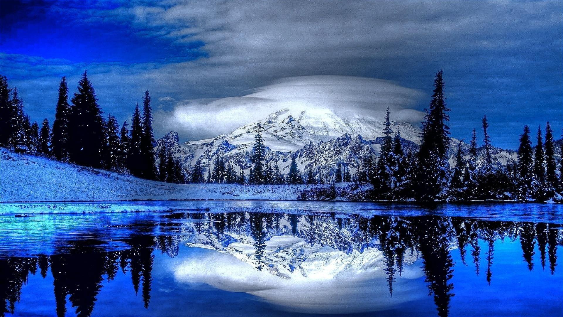 winter landscape full hd fond d'écran and arrière-plan | 1920x1080