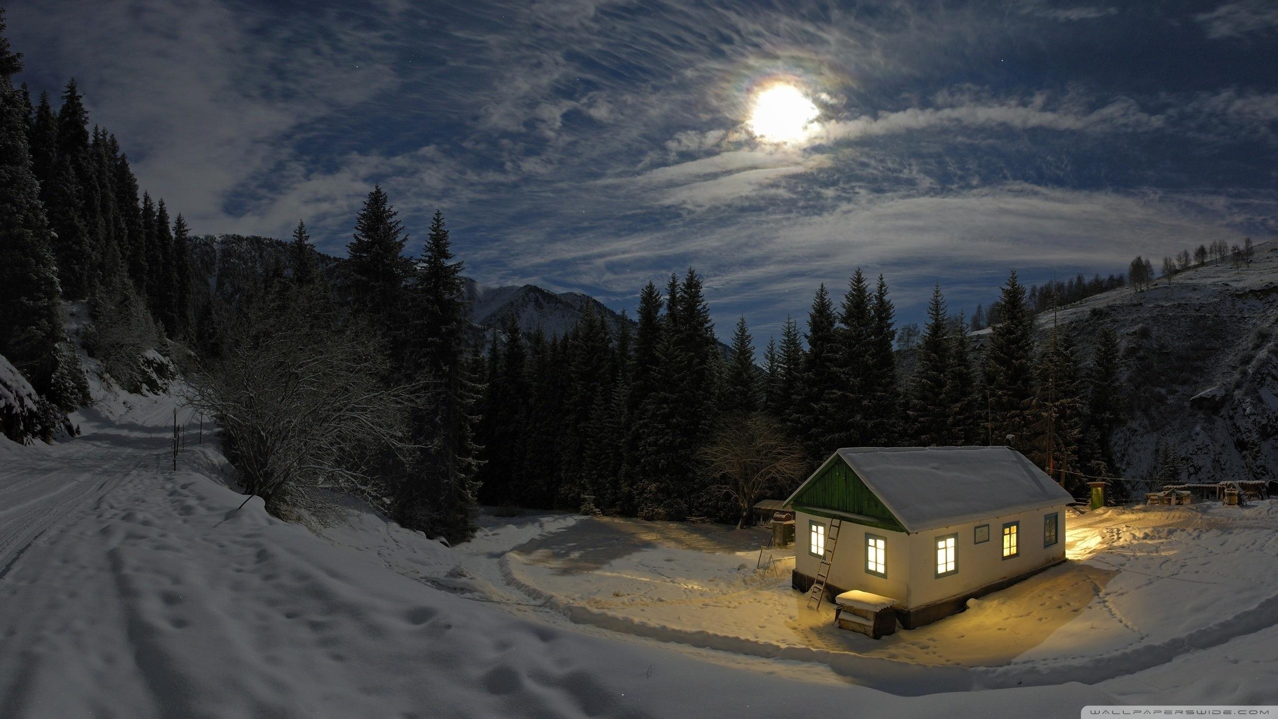 winter night ❤ 4k hd desktop wallpaper for 4k ultra hd tv • dual