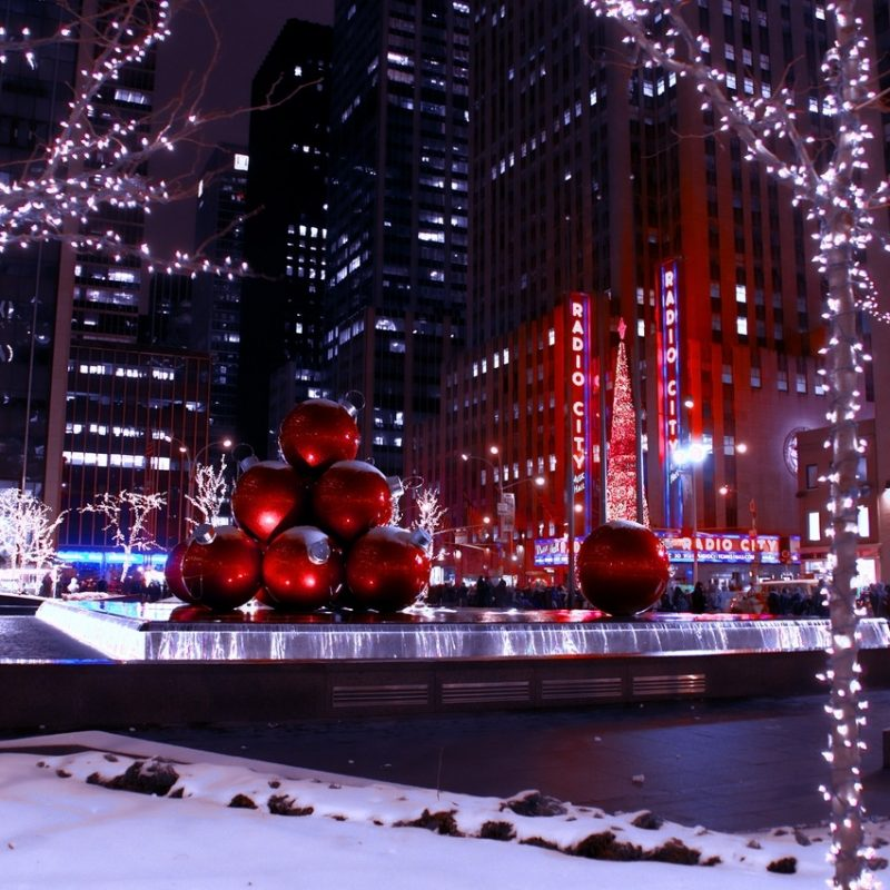10 Most Popular New York City Christmas Time Wallpaper FULL HD 1920×1080 For PC Background 2018 free download %name