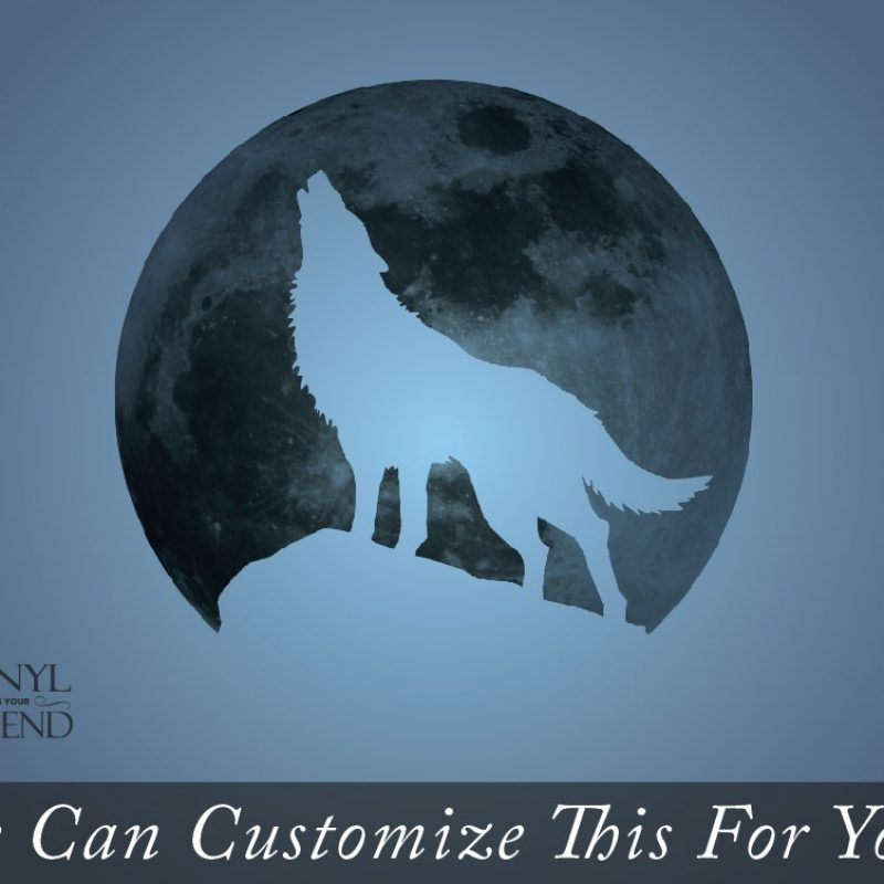 10 Best Wolf Howling At The Moon Picture FULL HD 1080p For PC Background 2020 free download wolf howling at the moon wall decor vinyl decal silhouette digital 800x800