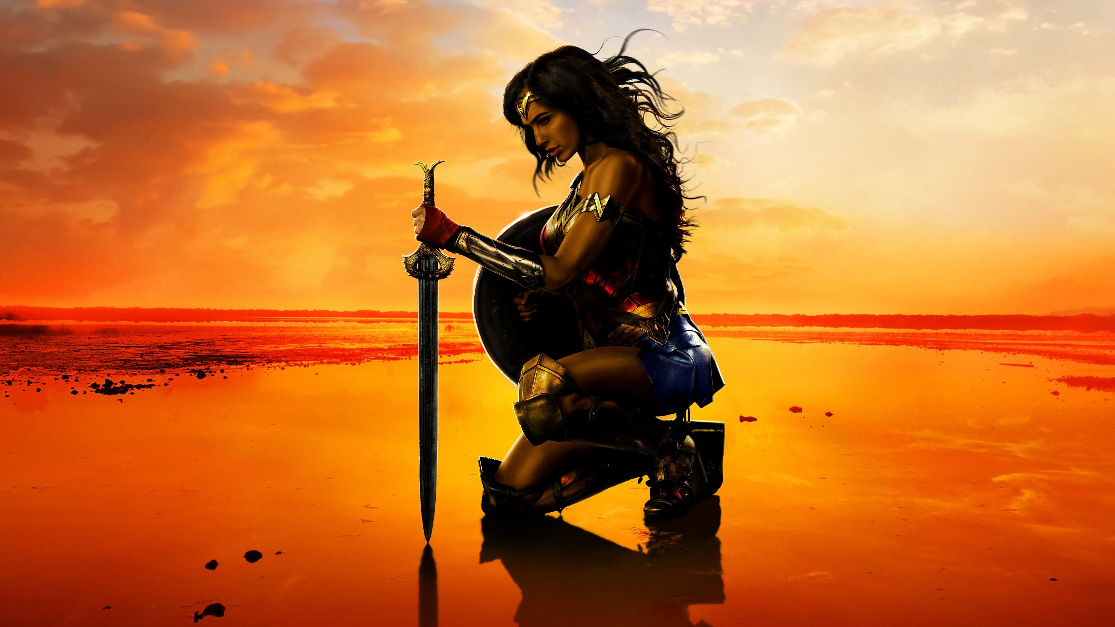 wonder woman movie gal gadot hd wallpaper | 1080p wallpaper