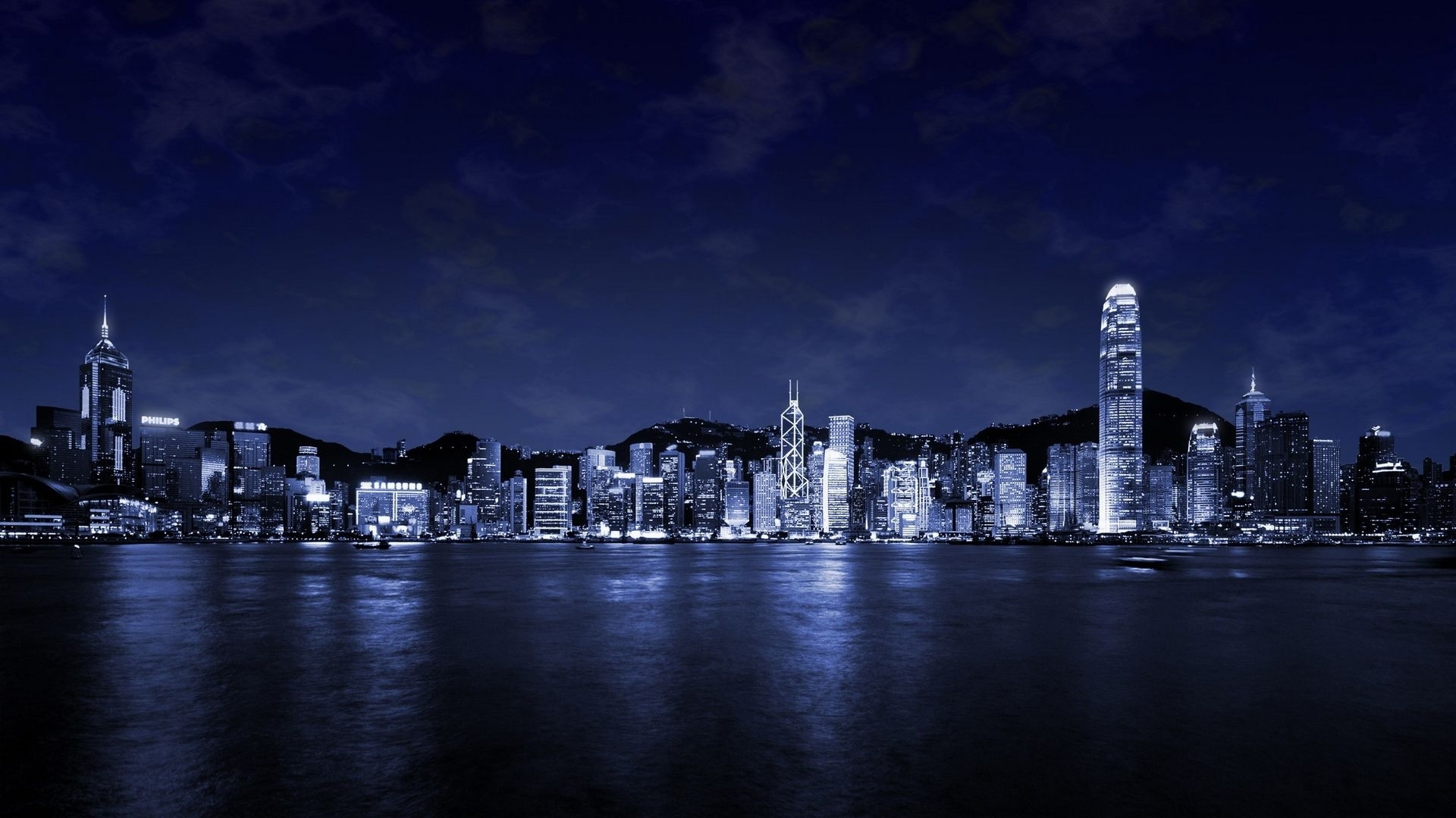 wonderful cityscape at night wallpaper free | manscapes: cityscapes