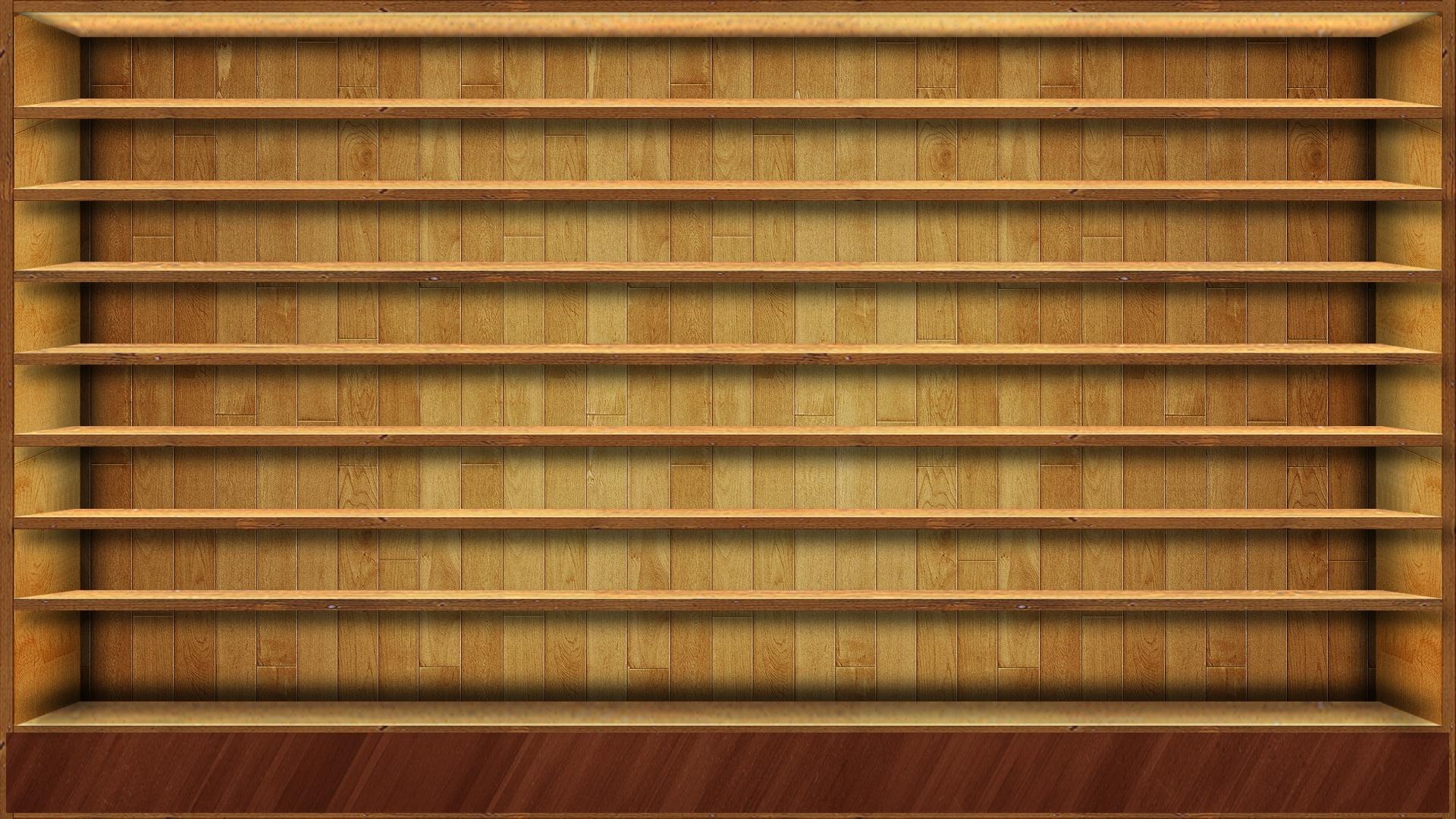 wood shelves wallpapersamirpa.deviantart it's time to tidy