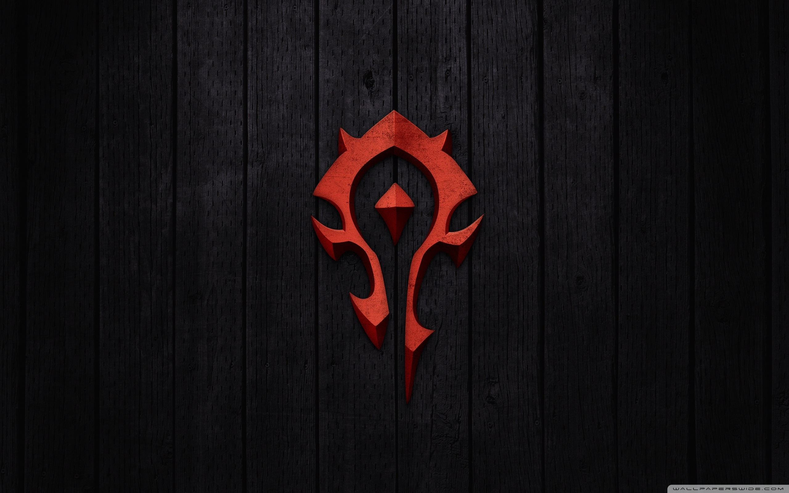 world of warcraft - horde sign ❤ 4k hd desktop wallpaper for 4k