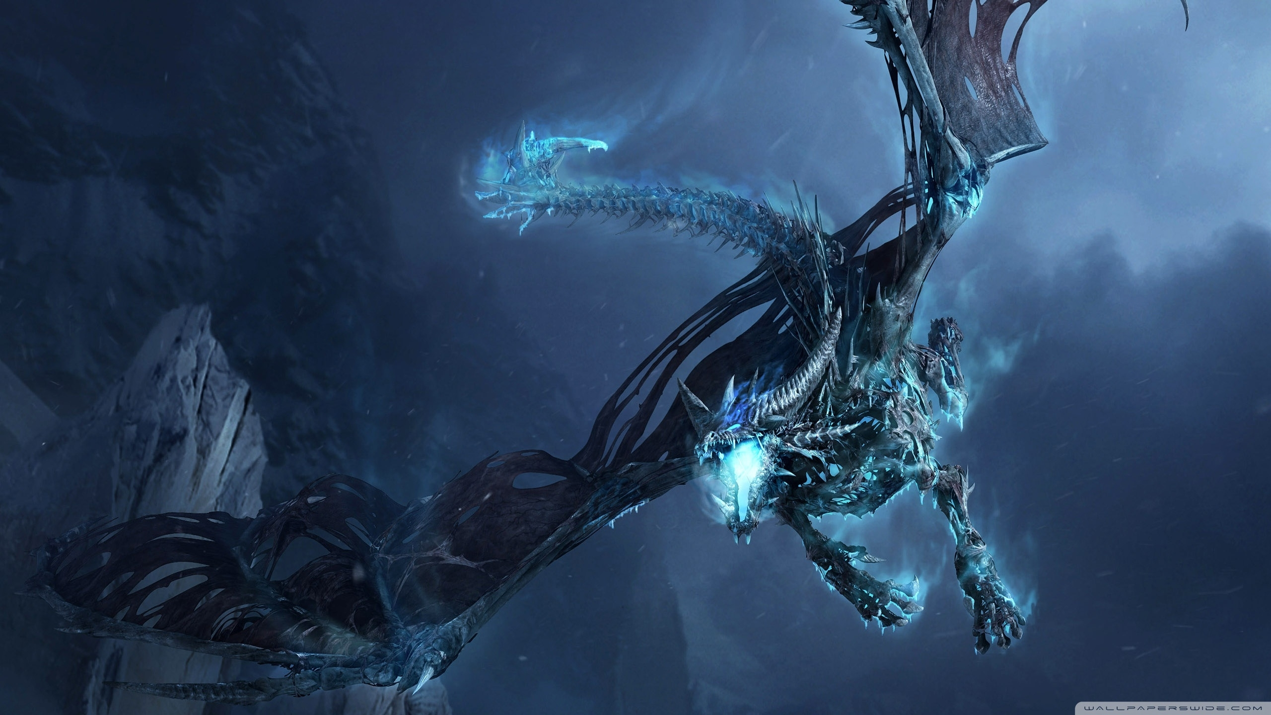 world of warcraft ice dragon ❤ 4k hd desktop wallpaper for 4k ultra