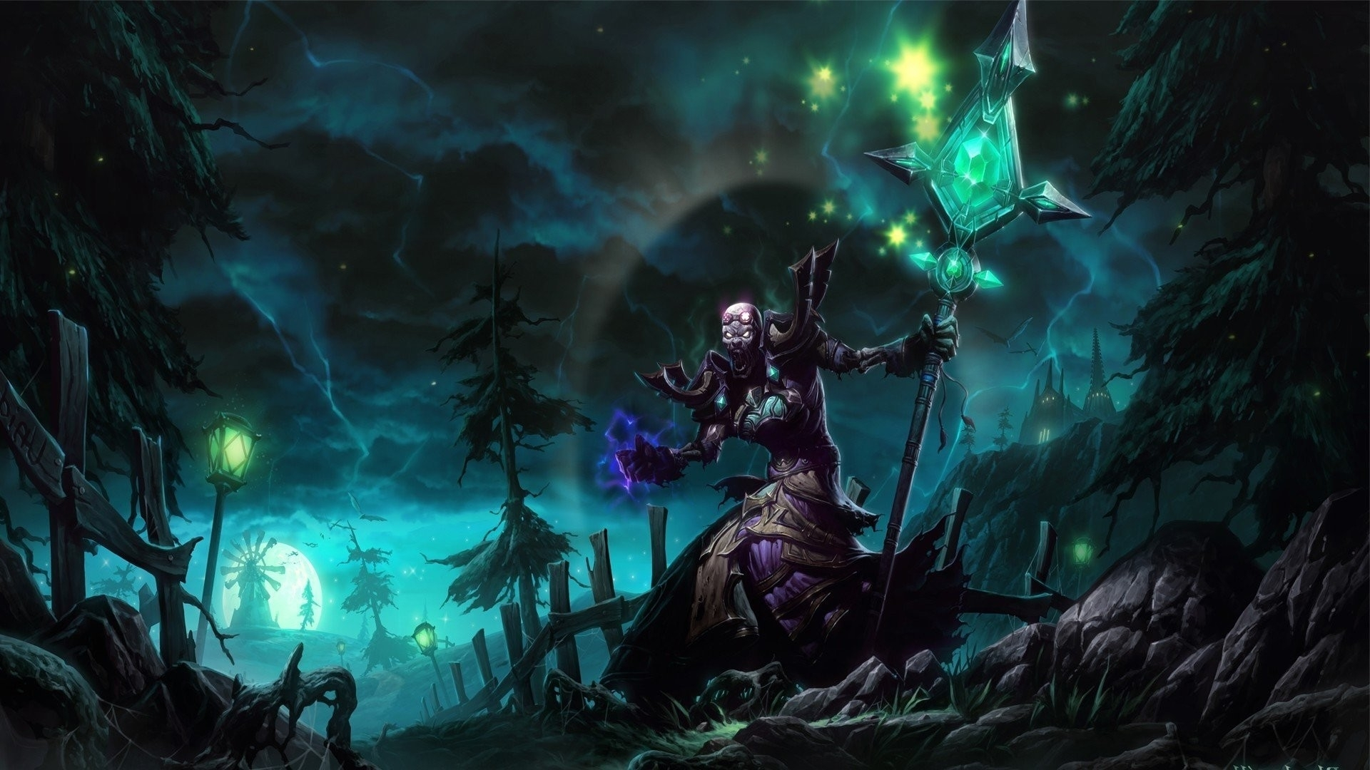 world of warcraft mage wallpaper ·①