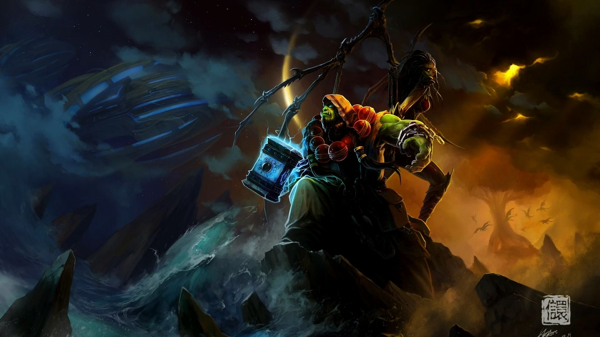 10 Latest World Of Warcraft Shaman Wallpaper FULL HD 1080p For PC Desktop
