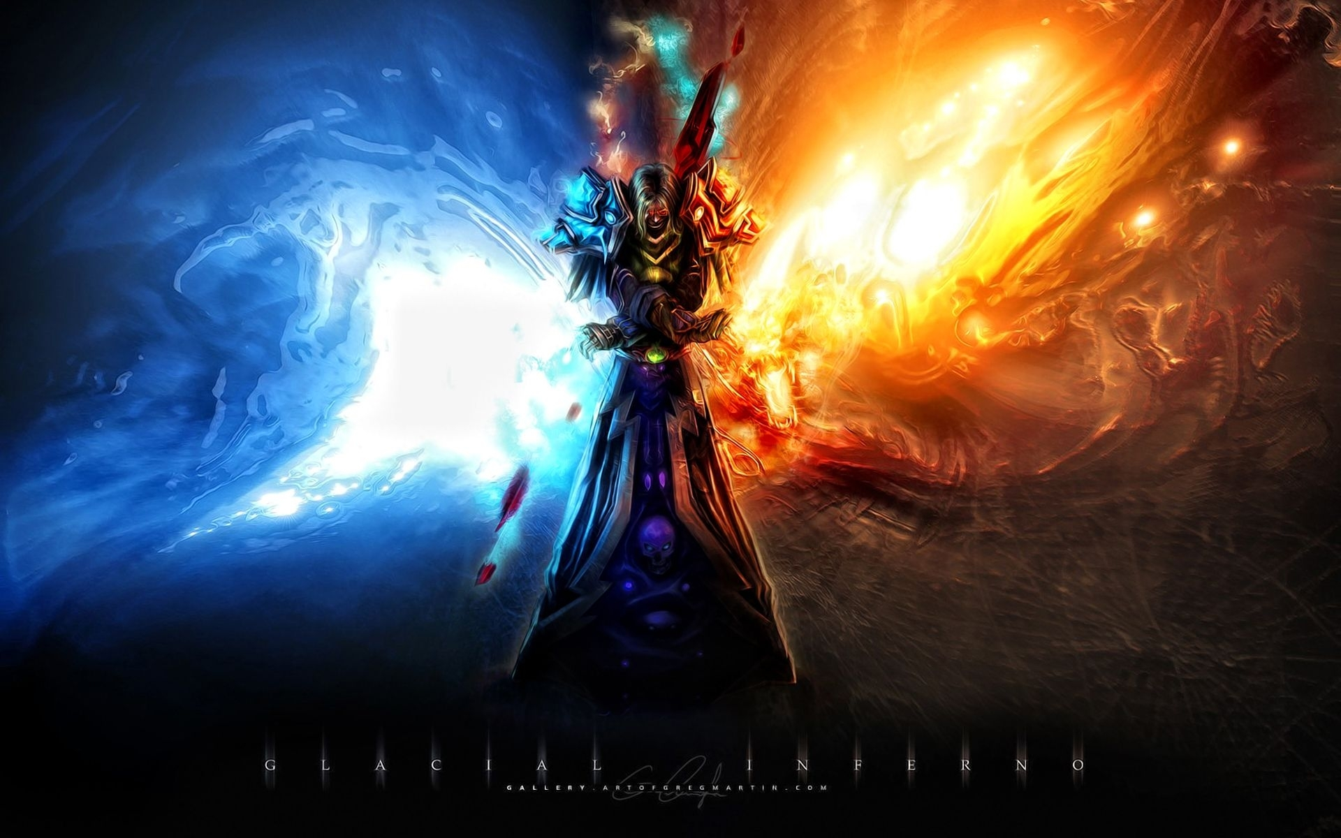 world of warcraft wallpaper frost mage - google search | world of