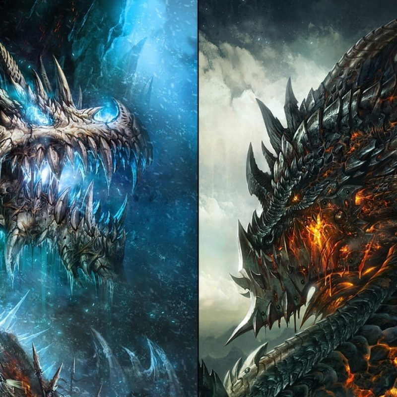 10 Top Epic Dragon Battle Wallpaper FULL HD 1080p For PC Background 2018 free download wow