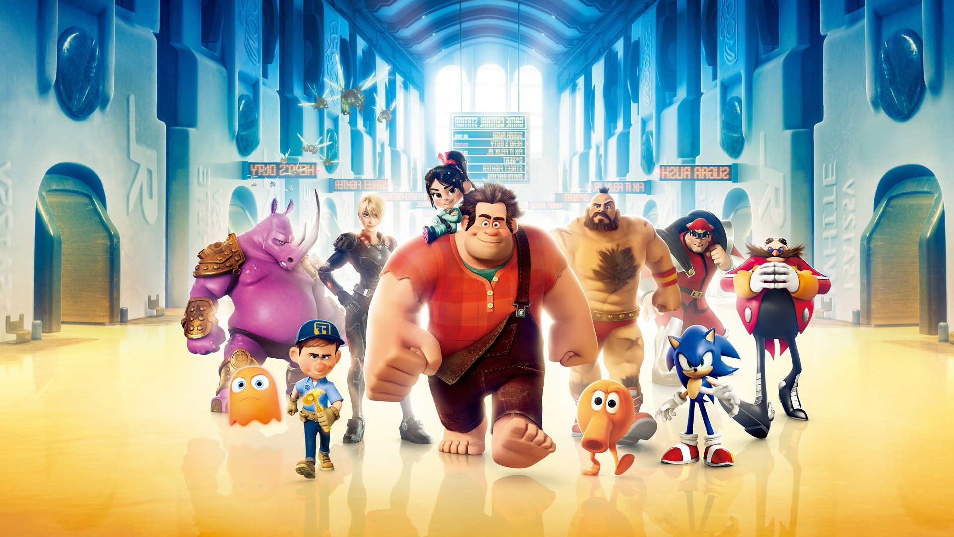 Title Wreck It Ralph Wallpapers Live Images Hd Dimension 1920 X 1080 File Type JPG JPEG