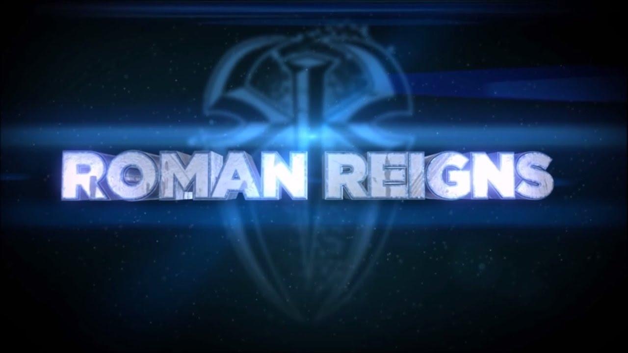 wwe roman reigns logo loop 2016 (hd) - youtube