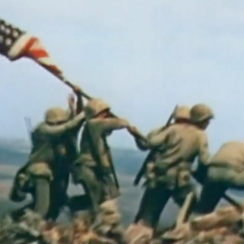 10 Top Raising The Flag On Iwo Jima In Color FULL HD 1080p For PC Desktop 2021 free download wwii iwo jima in color to the shores of iwo jima 1945 office of 1 800x800