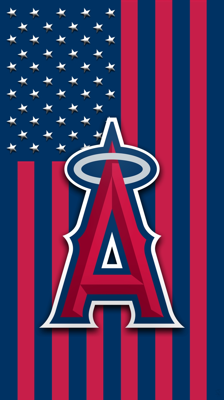 x los angeles angels los angeles angels mlb logo art | hd wallpapers