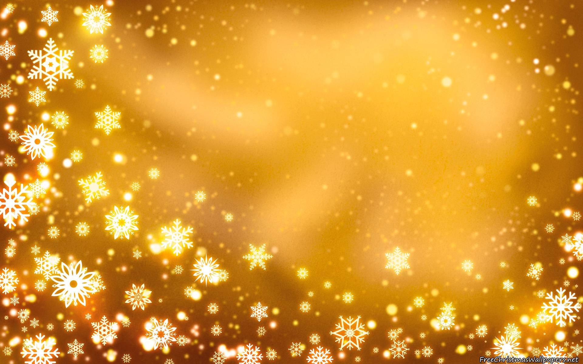 yellow christmas background with snowflakes wallpaper | christmas