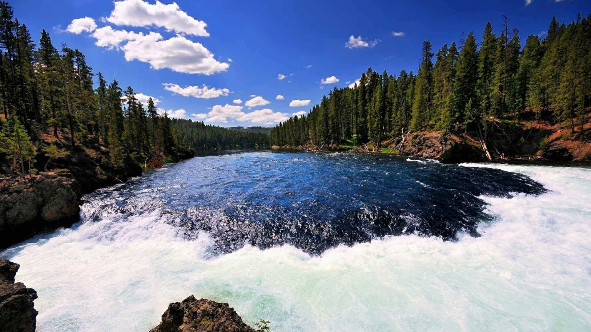 yellowstone national park wallpaper | wallpaper studio 10 | tens of