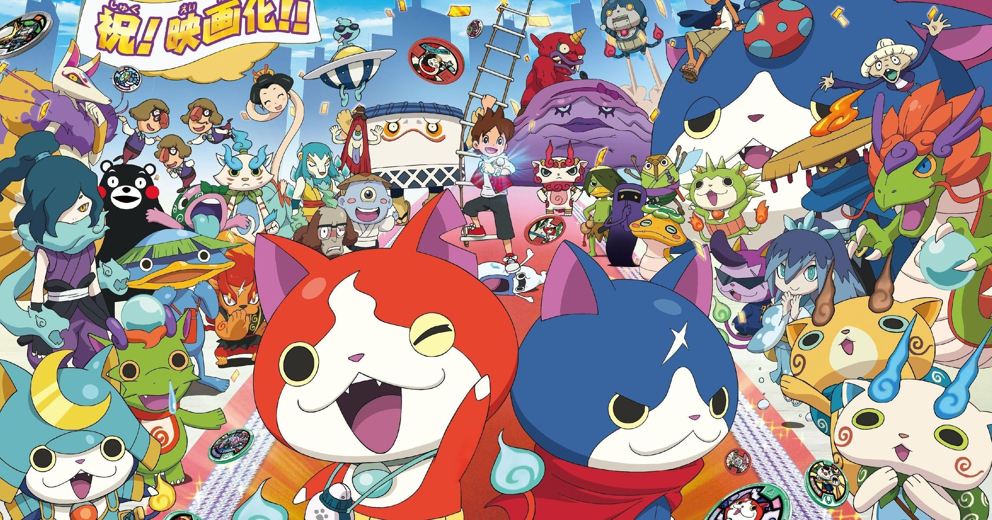 yo-kai watch wallpapers - wallpaper cave
