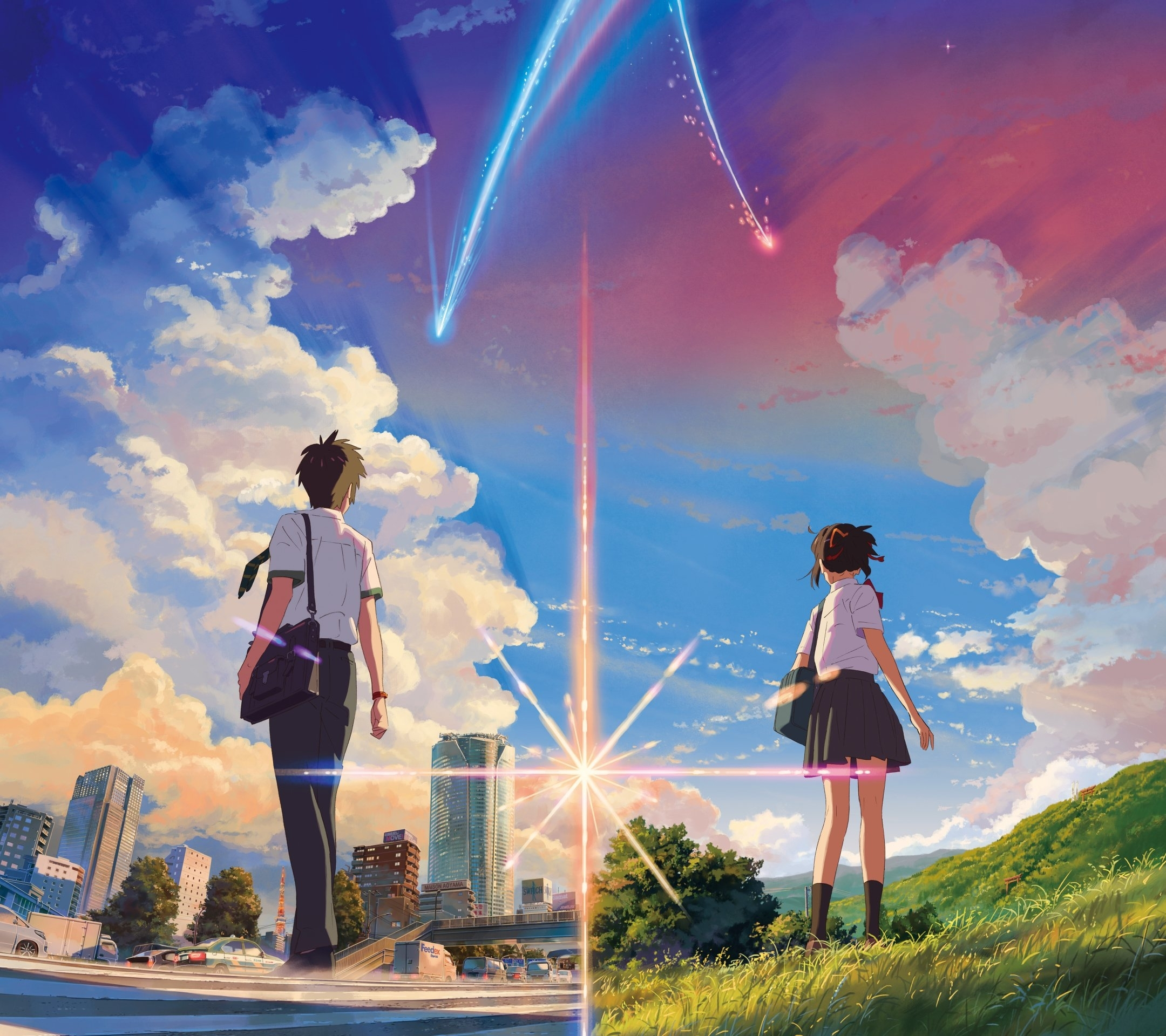 your name anime wallpapers