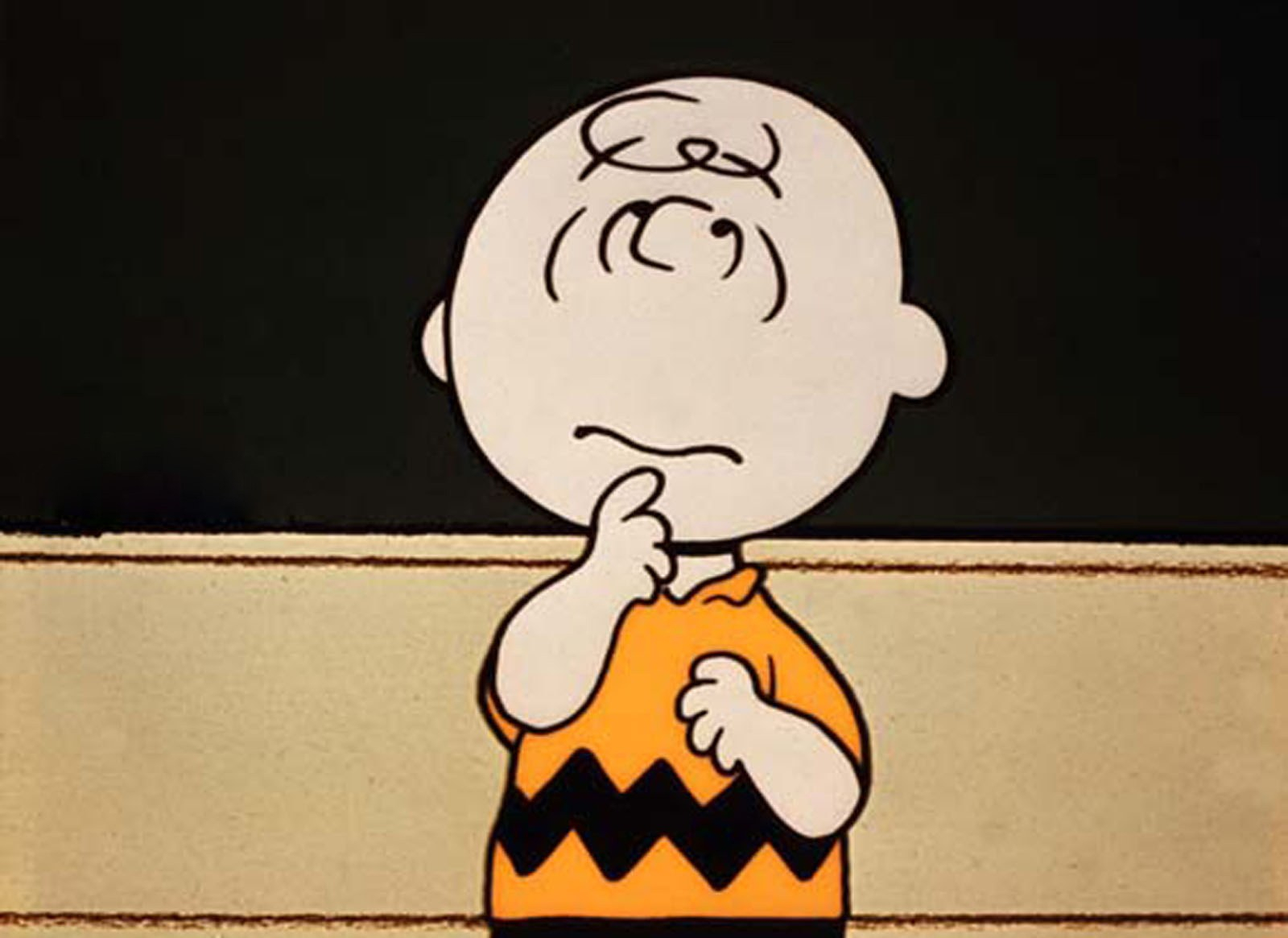 you're a winner, charlie brown, and it's bumming us out - gq