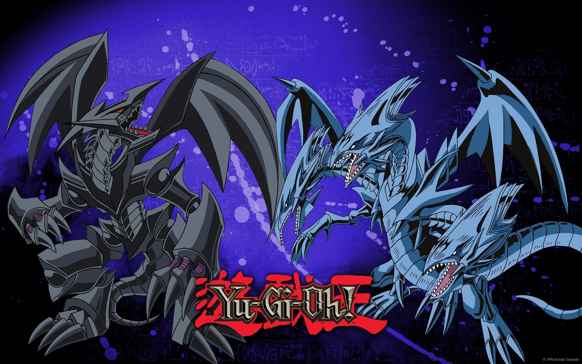 yu gi oh images red eyes black dragon vs blue eyes white dragon hd