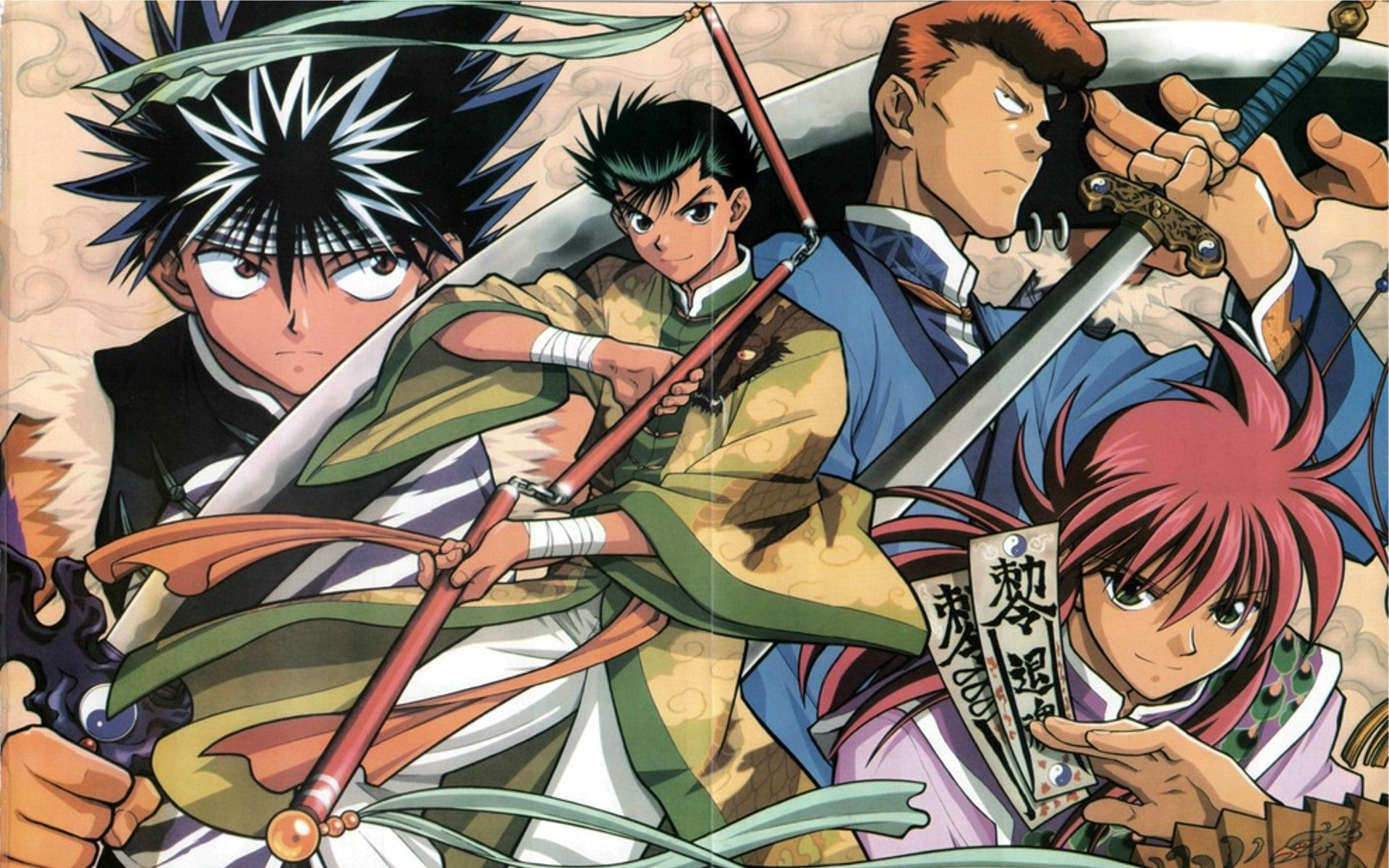 yu yu hakusho wallpapers high quality | download free | manga